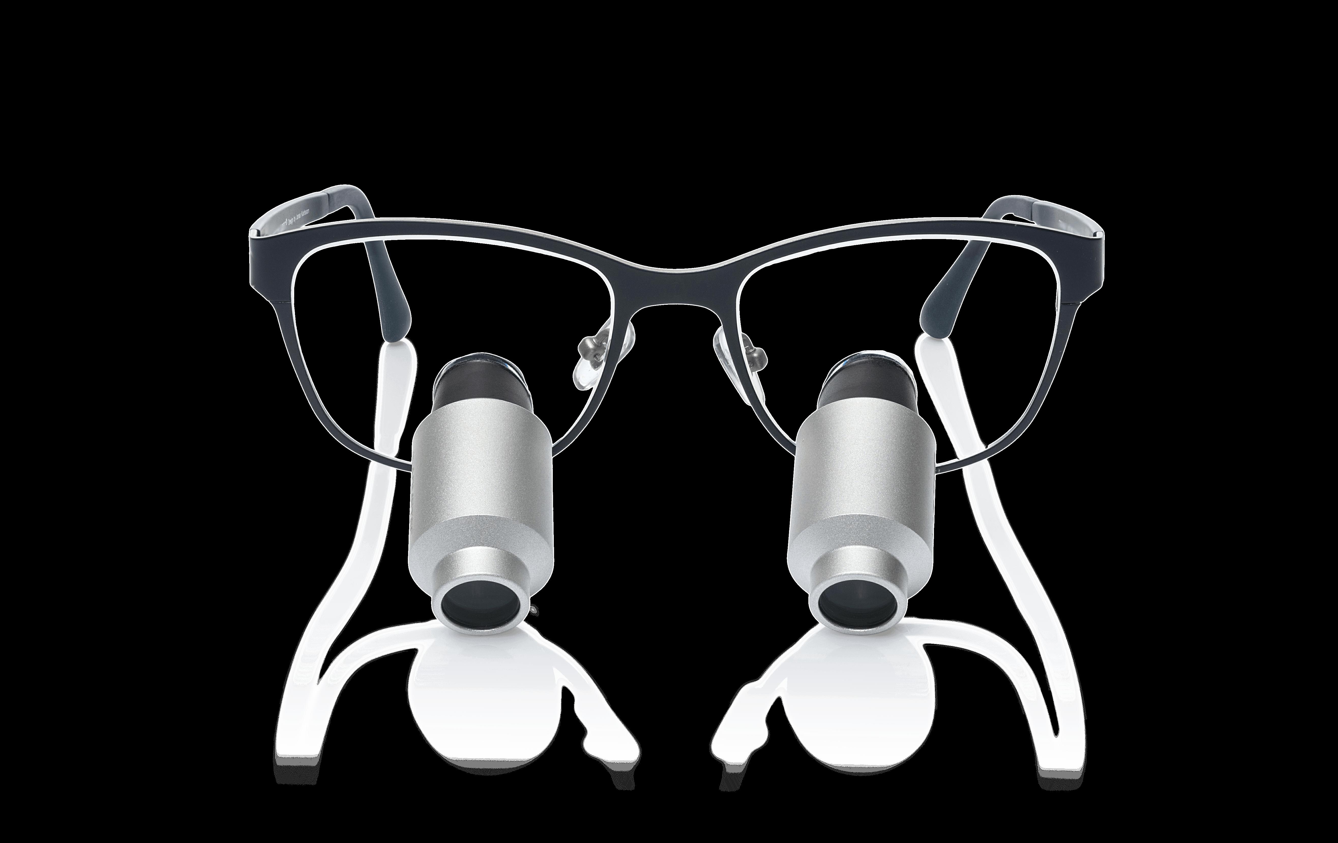 משקפי הגדלה פריזמטיים   4.8X