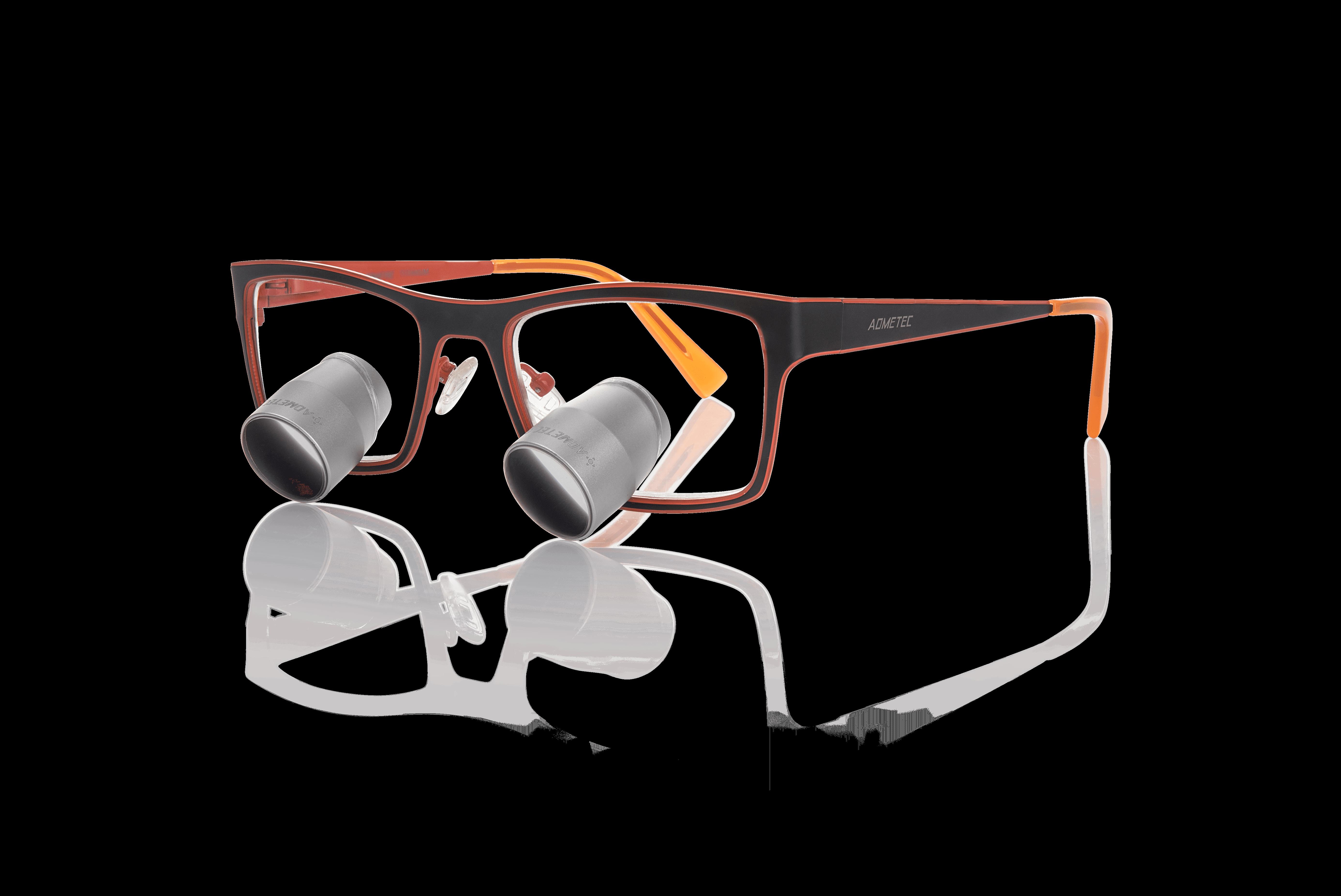 משקפי הגדלה גליליים | 2.7
